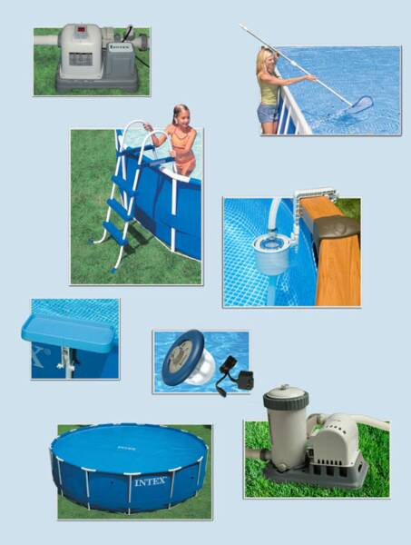 Image Gallery Intex Pools Accessories