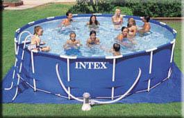 intex metal frame pools