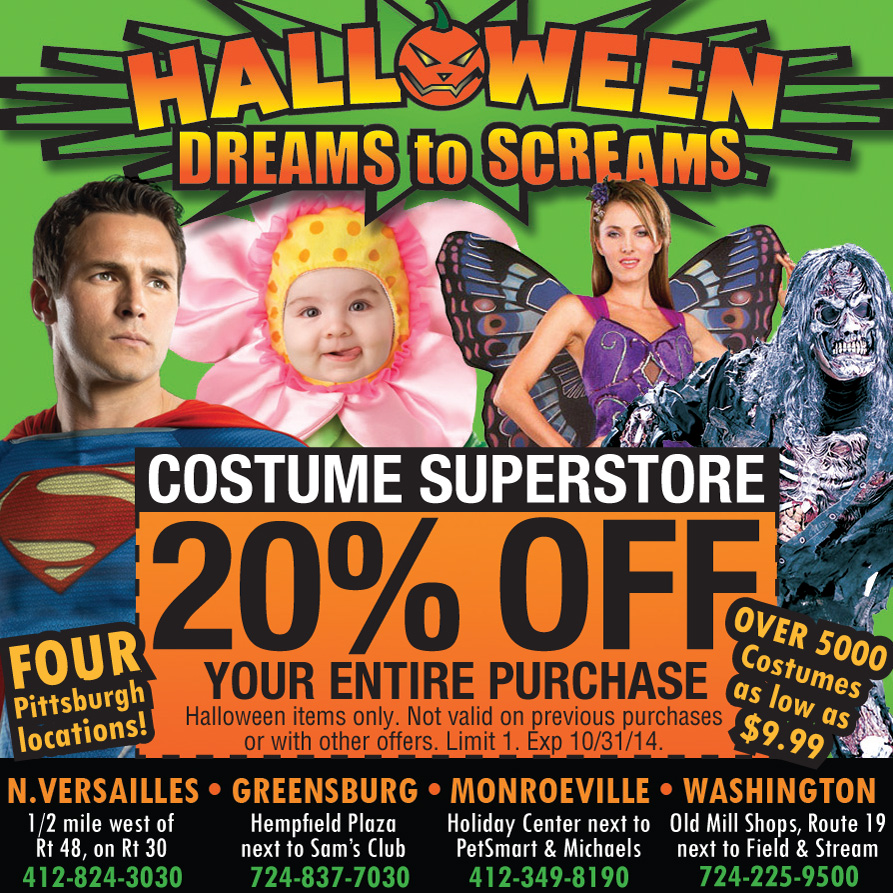 valley pool spa halloween costumes party supplies decorations in greensburg pa and - Halloween Supplies